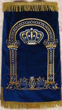 Torah Mantle M-250-MT